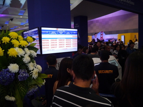 Biggest PAL booth at Travel Expo 2014 deploys the QueueRite System