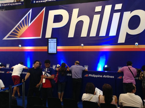 Philippine Airlines uses QueueRite System at the Travel Madness Expo 2014 at SMX